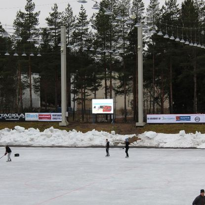 Oulunkylä Ice Sports Park - Led-screen