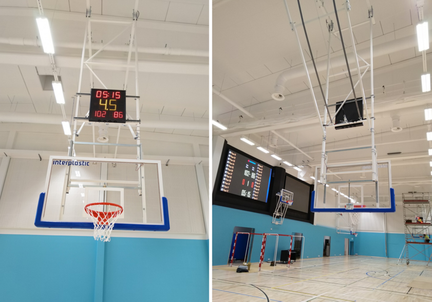 DT-SPORT VIDEO PRO scoreboard software and 24s shot clocks In Orimattila